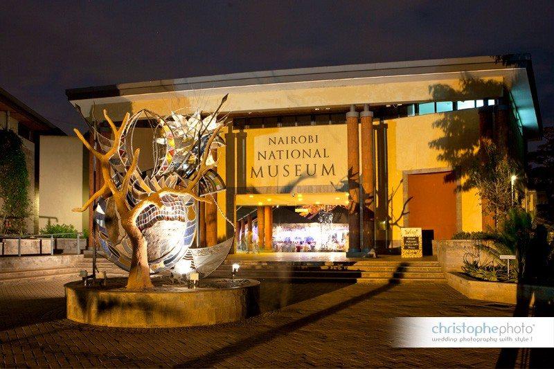 Wedding the Nairobi National Museum