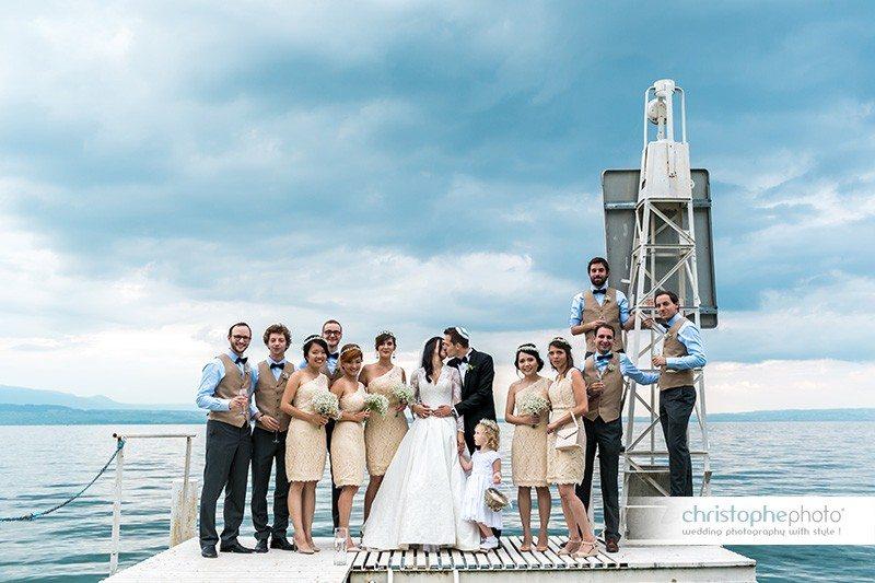 Geneva switzerland wedding