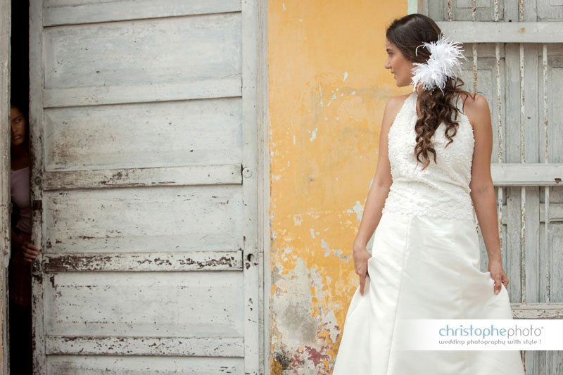 bride in cartagena