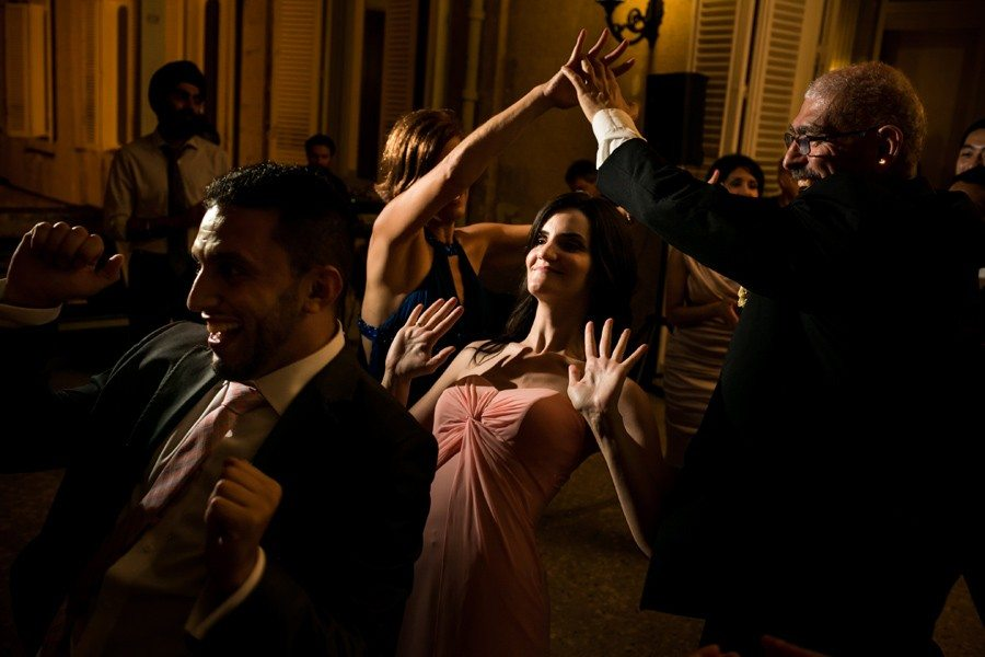 Dancing until the end of the evening