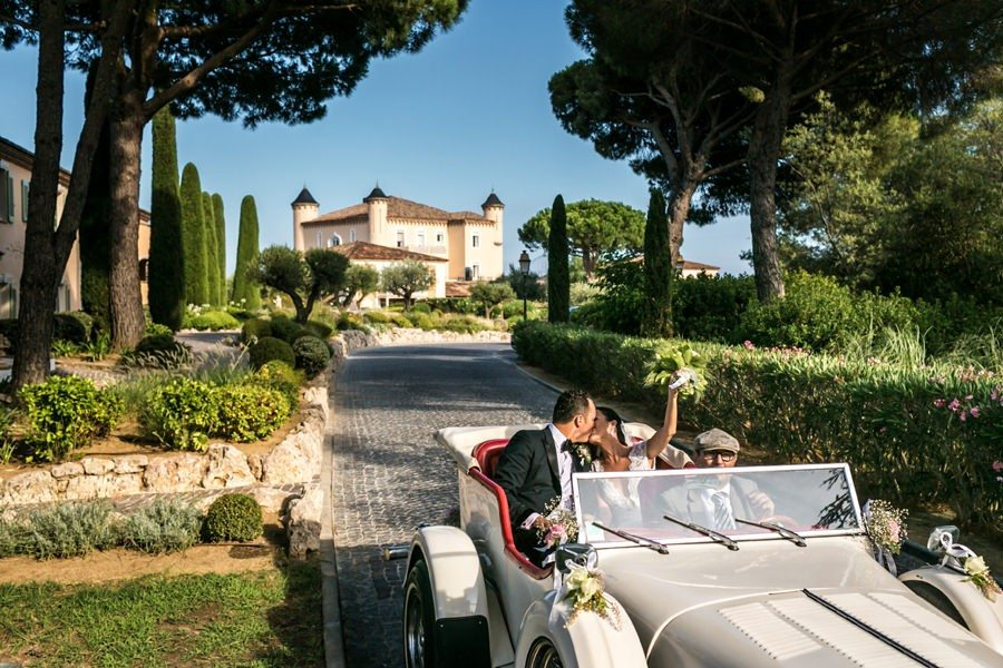 Intimate wedding in Saint Tropez South of France